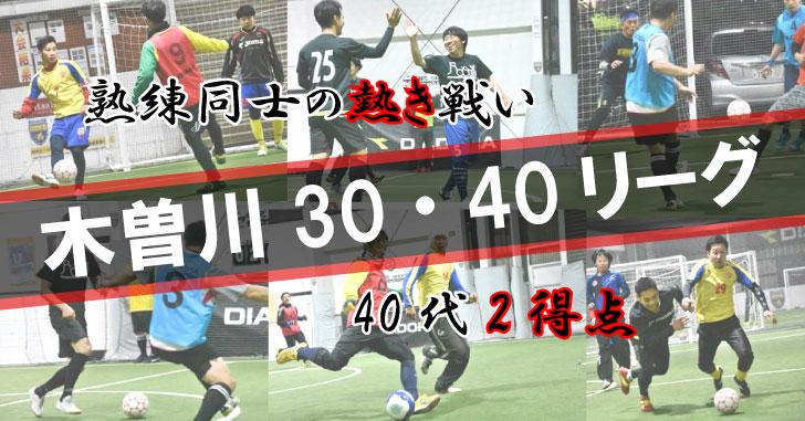 フットサルデザイン×木曽川フットサル工場 30・40リーグ、参加チーム募集!
