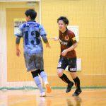 【愛知県1部第3節インタビュー】ROWDY FUTSAL CLUB 杉田 夢朔選手「自分は流し込むだけでした。どちらともごっつぁんゴールです。(笑)」