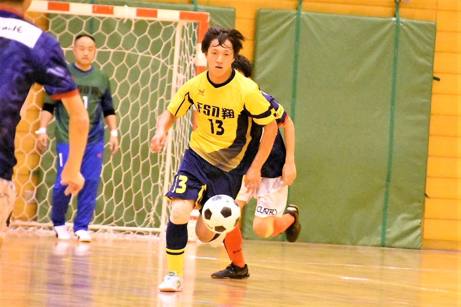 【愛知県1部第5節インタビュー】F・S・D翔 深谷 郁夫選手「逆に開き直って試合に入れたと思います。」