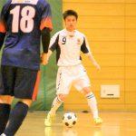 【愛知県1部第9節インタビュー】名古屋オーシャンズ U-21 溝口 司選手 「自分が動くことでチームを動かせればと思っています。」
