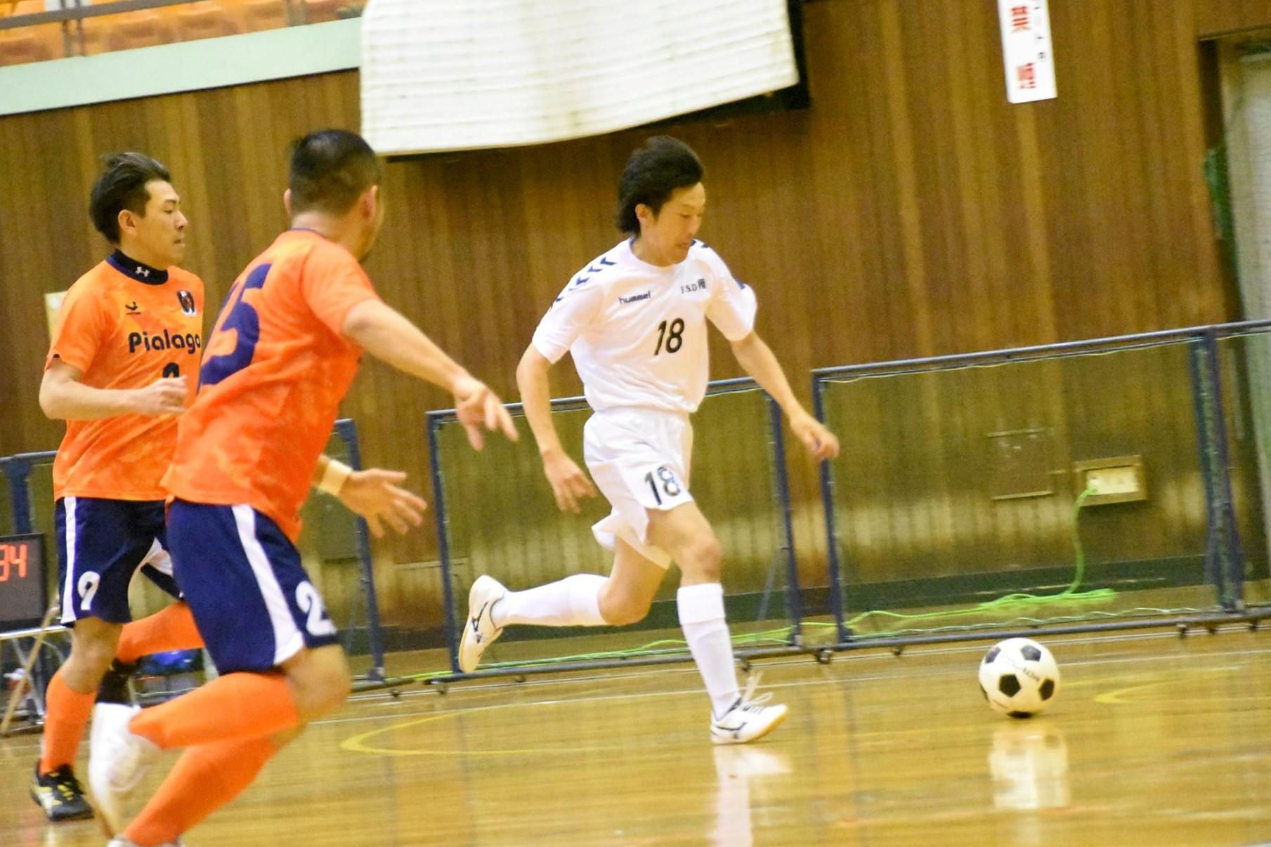 【愛知県1部第1節インタビュー】F・S・D翔 大元 洋祐 選手「コースに打つことは意識してますが、シュートは感覚ですね」