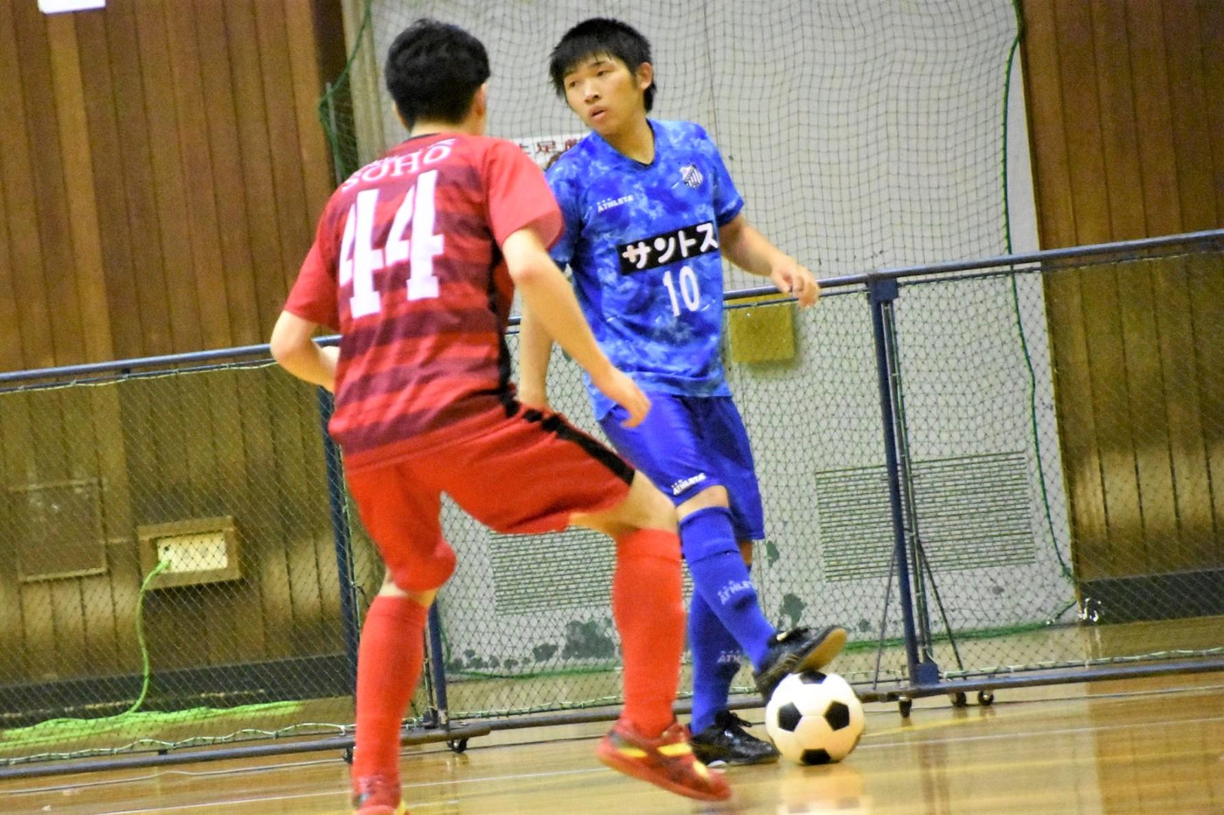 【愛知県1部第1節インタビュー】サントスFC/SOCCER FASION santista 青山 和季選手「味方を理解して、それを活かせるようなゲーム作りを心掛けてやっています」