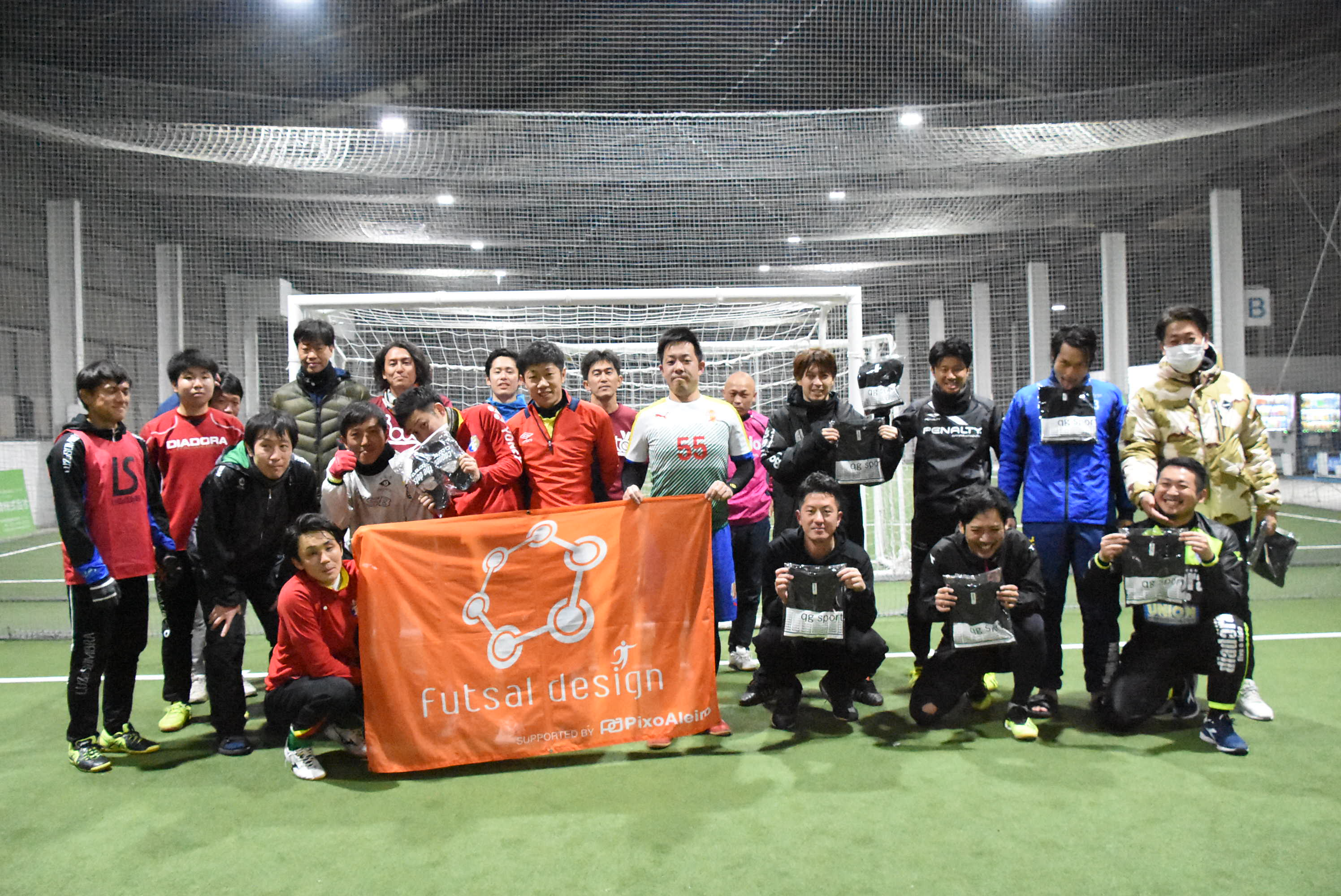 木曽川30・40リーグ 2018.11~ 第3節_20190116