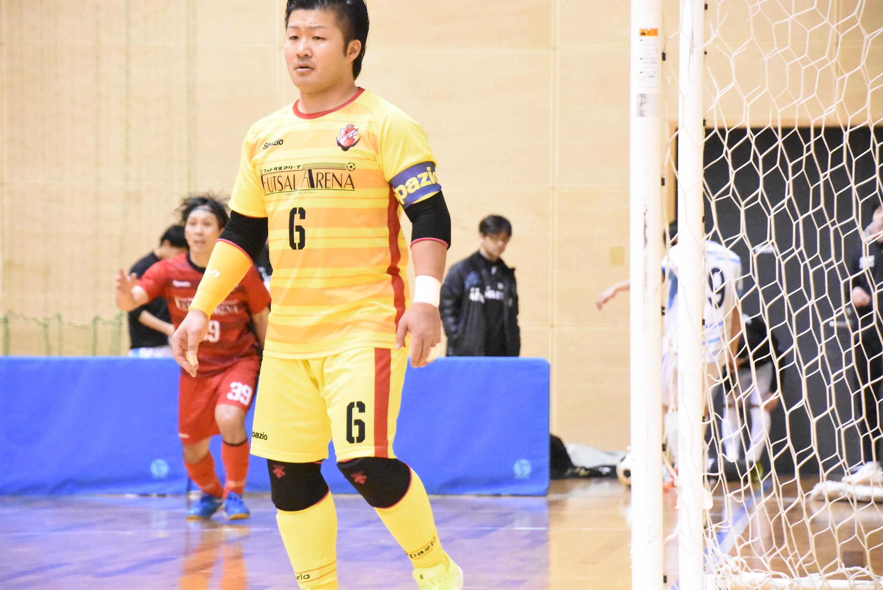 【愛知県1部第8節インタビュー】PRIDE/futsal arena 平松 法大選手「自分の特長だと思っているスローだけは誰にも負けないと思っています」