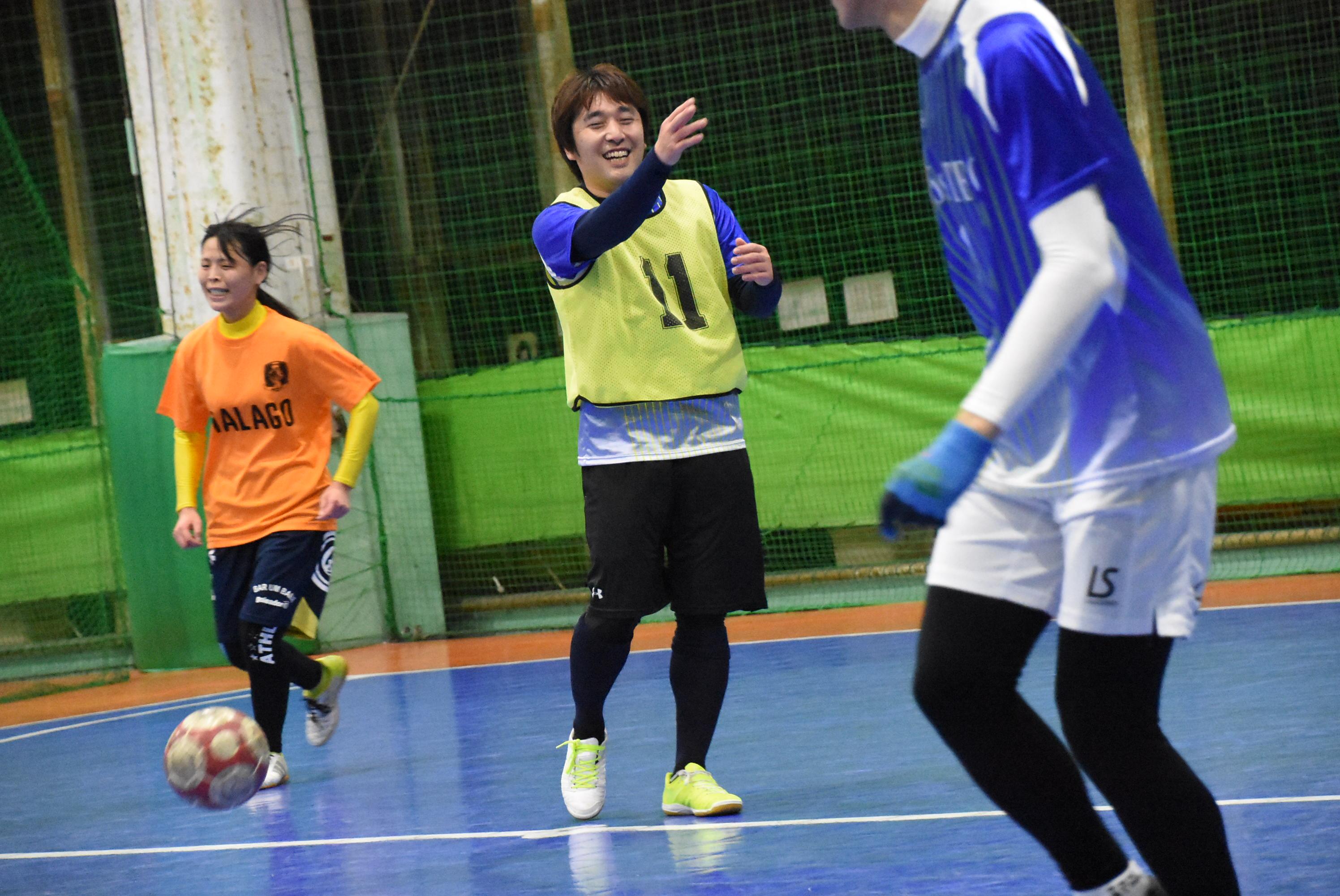 【豊橋ミックスリーグ】第3節結果 最終節も女性ゴール連発!最後はチームMが勝ちきり、初制覇!