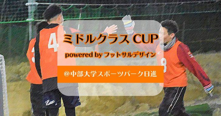 ミドルクラスCUP powered by フットサルデザイン